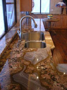 Beau Custom Granite Kitchen Countertops  Http://www.straightlineimports.com/galleries.