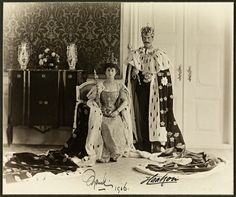 All sizes | Dronning Maud og Kong Haakon VII / Queen Maud and King Haakon VII, 1906 | Flickr - Photo Sharing!