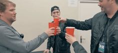 New party member! Tags: space cheers robin schulz astronauts red cups