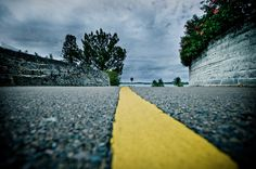 I drew a line for you, Oh what a thing to do, And it was all yellow by Tom Q on 500px