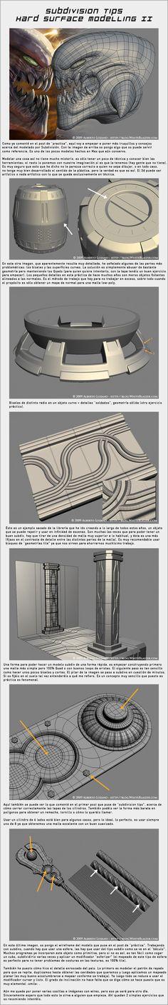 Subdivision Tips - Hard-Surface Modelling II by WhiteBlaizer