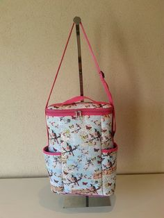 Matero / Bolso termico, hecho en Neoprene Yerba Mate, Ideas Para, Lunch Box, Camping, Pattern, Scrappy Quilts, Creativity, Ideas, How To Make Bags