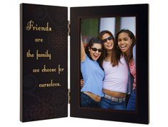 Malden Friends are the Family We Choose for Ourselves Storyboard Frame, 4 by – Single Frames: Birthday gift Best Friend Picture Frames, Best Friend Pictures, Wood Picture Frames, Best Friend Day, Best Friend Gifts, Best Friends, Friends Forever, Friendship Day Images, Friendship Day Gifts