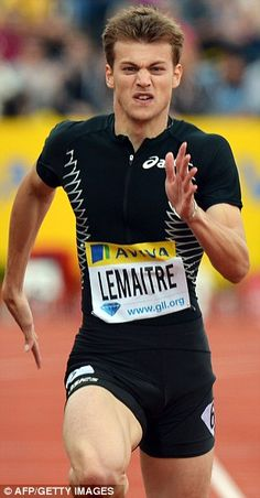 French sprinter Christophe Lemaitre