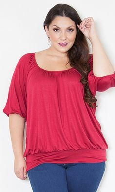 a1fa0adf82a Charlene Top (Classic)  39.90 by SWAK Designs  swakdesigns  PlusSize  Curvy  Plus