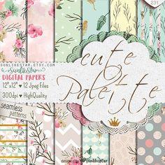 Fleur en papier Digital Scrapbook: Gratuit utilisation