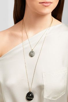 CVC Stones necklaces are perfect worn as one, or layered.Now on Net-a-Porter