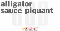 Alligator Sauce Piquant | CDKitchen.com