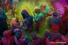 One day, I will travel to India, just to celebrate Holi and Diwali.