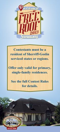 """Pin It to Win It"" Rules.  For a our full rules of eligibility, please visit www.sherriffgoslin.com/pin-it-to-win-it/rules.php?section_url=195"