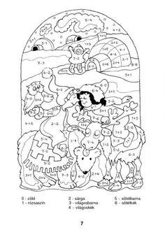 Színező 10-ig - kisferenc.qwqw.hu 1st Grade Math, Math Activities, Snoopy, Classroom, Fictional Characters, Count, November, Art, School