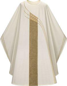 White Vestment by Slabbinck from Henninger's Religious Goods in Cleveland $495