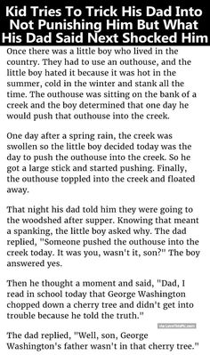 Kid Tries To Trick His Dad Into Not Punishing Him But What His Dad Said Next Shocked Him