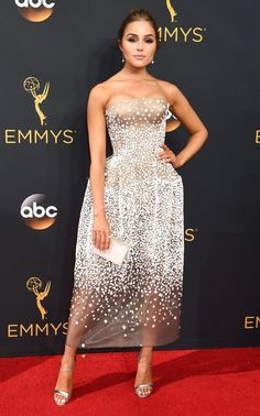 Emmy Awards 2016  Winners and Highlights. Red Carpet LooksNice DressesOlivia  ... ef59d4f44316