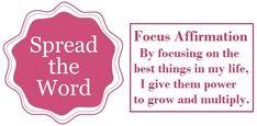 Tuesday's Healing Word Focus