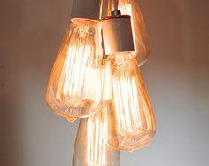 Create your own custom Small-Medium Live-Edge Wood Slab Light   Etsy