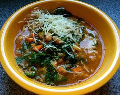 Husband Tested Recipes From Alice's Kitchen: Soyrizo or Sausage Kale Bean Soup