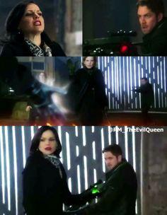 Regina, Zelena & Robin episode 20 (spoiler alert). #OutlawQueen❤️❤️