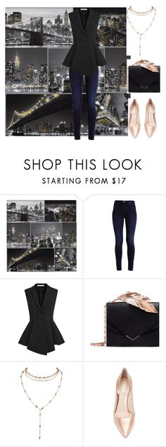 """""""Night Look"""" by amanda-368 ❤ liked on Polyvore featuring Givenchy, RALPH & RUSSO and Nicholas Kirkwood"""
