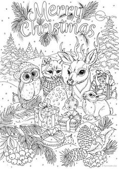 Merry Christmas - Printable Adult Coloring Page from Favoreads Coloring book pages for adults and kids Coloring sheets Coloring designs Merry Christmas - Printable Adult Coloring Page from Favoreads Coloring book pages for adults and ki Horse Coloring Pages, Colouring Pages, Free Coloring, Coloring Books, Kids Coloring, Snowman Coloring Pages, Colouring Sheets, Fairy Coloring, Christmas Coloring Sheets