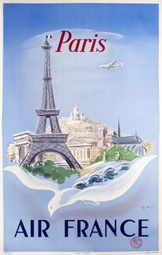 cartes air france on pinterest air france vintage travel posters and travel posters. Black Bedroom Furniture Sets. Home Design Ideas