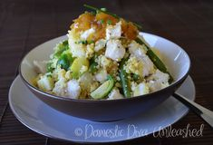Domestic Diva: Chicken and Cous Cous Salad in the Varoma Elimination Diet Recipes, Couscous Salad, Recipe Collection, Main Meals, Salad Recipes, Chicken Breasts, Veggies, Cooking Recipes, Dishes