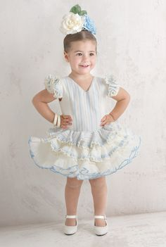 Traje de gitana flamenca para niña MiBebesito gtn307 niña Traje Flamenca  Bebe 22596e204889