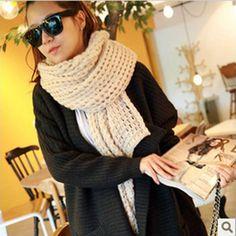 colorful women winter scarf Wool Blend infinite spain desigual Neck Circle knitt Cowl 3 color Thicken fashion Shawl Wrap 1pcs