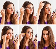 If you have almond eyes, follow this step by step tutorial to achieve the smokey eye look.