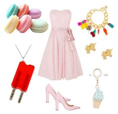 """""""Candy land"""" by rainbowcutie1 on Polyvore featuring beauty, Kaliko, Siren, Dylan's Candy Bar, Dogeared and Kate Spade"""