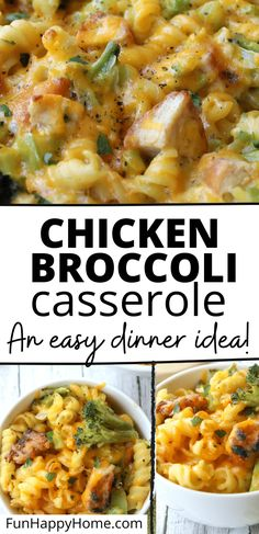 Looking for an easy, healthy dinner idea? You need to make this Chicken and Broccoli Casserole Recipe! It's always a winner at my house! #recipes #easydinnerrecipe #dinner #healthy