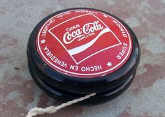 "1970's Jack Russell ""SUPER"" COCA COLA YO-YO - Vintage #JackRussell"