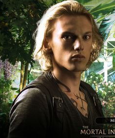 City of bones : the mortal instruments. He's perfect for the role...like you don't understand...