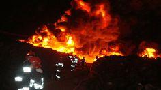 ZBIGNIEW SIERAJ BLOG ®: Ryki... Nasi dzielni strażacy gaszą pożar.... Ul. ...