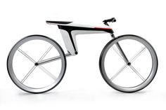 """Designer Ralf Kittmann created this innovative electric motorbike concept. """"The HMK 561 is a carbon fiber bike with special electrical properties that hold power right… Cool Bicycles, Cool Bikes, Bmx, Moto Bike, Motorcycle, Grid Design, Electric Bicycle, Bicycle Design, Automotive Design"""