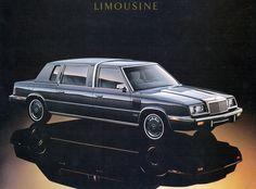 1986 Chrysler LeBaron Limousine AD