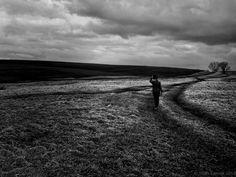 Alone in the fields
