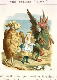 Eating and drinking in Alice's Adventures in Wonderland - The British Library