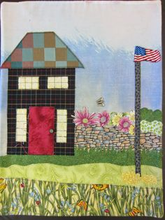 The House Quilt Project: Prairie, Squares and Polka Dots!