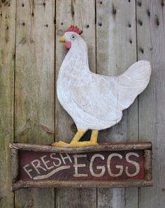 Fresh eggs...
