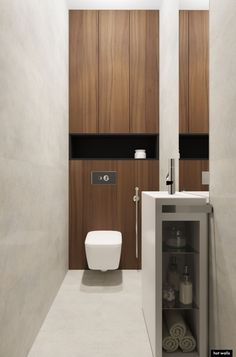 Bathroom Design Small, Bathroom Interior Design, Bath Design, Bathroom Inspo, Bathroom Inspiration, Washroom, Bathroom Storage, Minimal Bathroom, Toilet Room