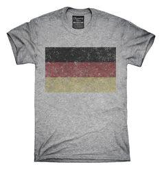Retro Vintage Germany Flag T-Shirts, Hoodies, Tank Tops