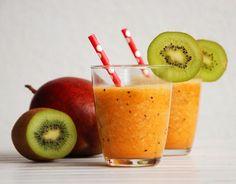 Galeria Smaku: Koktajl z kiwi, mango i marchewki