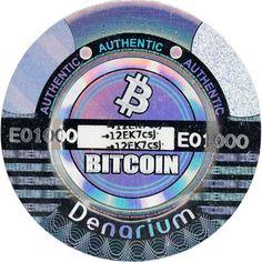 Denarium Bitcoin безопасности Голограмма