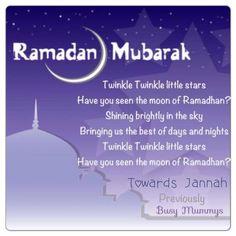 ramadan rhyme