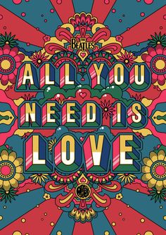 Ideas music poster art illustration the beatles Poster Dos Beatles, Les Beatles, Beatles Art, Beatles Quotes, Beatles Lyrics, Music Lyrics, Rock Posters, Band Posters, All You Need Is Love