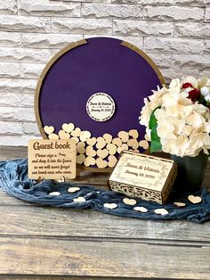 Rustic Wedding Guest Book, Wedding Book, Diy Wedding, Wedding Gifts, Dream Wedding, Star Trek Wedding, Wedding Reception Decorations, Wedding Decor, Romantic Wedding Receptions