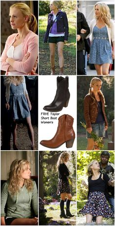 sookie stackhouse and FRYE Women's Taylor Short Boot