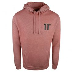 Buy 11 Degrees 863 Core Pull Over Hood Rust at Vault Menswear e7d113543a59