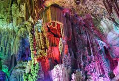 """andhot: """" Reed Flute Cave, China """""""